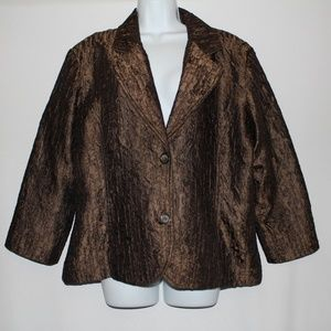 Chico's Brown Jacket Size 3